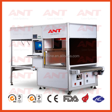 Denim galvo laser mass production with auto feeding system laser marking washing machine
