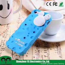 Mickey Mouse 3d silicon cute mobile phone cover for iphone 5s