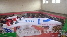hot sale customized new style large inflatable airplane for sale