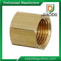 Customized new products cnc machine brass coupling nuts