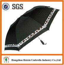 """Latest Cheap Prices!! Factory Supply 21""""8 ribs 2folding umbrella with Crooked Handle"""