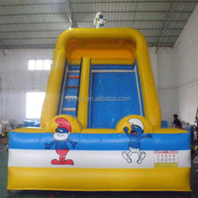 inflatable slide products , NO.254 new product red outdoor promotion inflatable slide