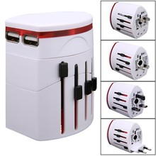 Universal Plug Adapter Travel AC Power Adapter Multi Usb Charger with AU US UK EU Plug SV015207