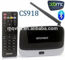 RK3188 Quad core cs918 android tv box 500MHz,Mali-400 3D 1.8GHZ SD with IR
