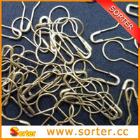 2015 high quality bulb shaped safety pins for garment can pass the needle detector