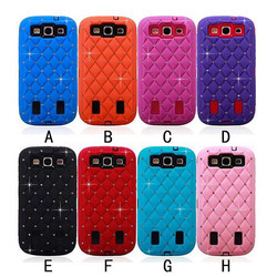 Alibaba China luxury diamond scratchproof back case for samsung galaxy s3 case cover