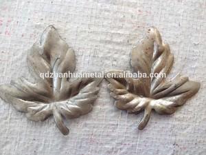 Молоток кованого металла виноградные листья 2 мм толщина