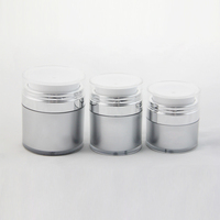 15ML 30ML 50ML Korean Acrylic Airless Round Cosmetic Jar 15G 30G 50G