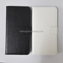 High quality leather flip case for samsung galaxy e7