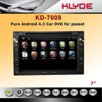 7inch touch screen pure android 4.2.2 car dvd player for VW PASSAT B5