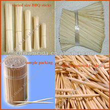 Welcomed Varied Size Diameter 1mm to 3mm Length 15cm to 30cm raw bamboo incense stick Incense Stick