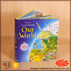[Our World] english cardboard talking book for children