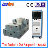 high acceleration electrodynamic vibration testing table with power analyzer