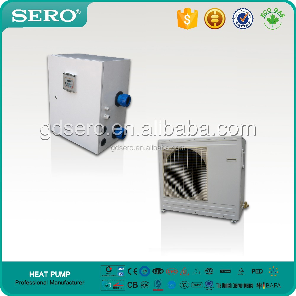 Split Tpye Dc Inverter Swimming Pool Heat Pump 9 25kw Metal Shell Buy Dc Inverter Heat
