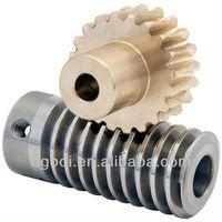 stepped motor worm gear, small worm gear