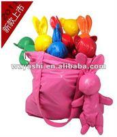 Rabbit Nylon Foldable Shopping Bag