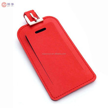 Stylish Microfiber Leather ID Tags Business Card Holder for Luggage Baggage ID Travel Identifier for DJ Equipment Travel Bag