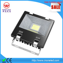 Bridgelux chips 45mil and MEANWELL Driver 70w outdoor led flood light IP65 flood led light