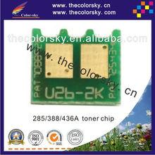 (CS-UHU1) universal toner cartridge reset chip for HP CE285A CE285 CC388A CC388 CC436A CC436 CE 285A CC 388A 436A 1.6k/1.5K/2K
