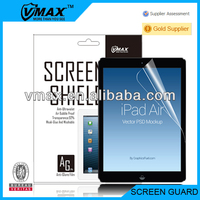 HD-Clear,Anti-Glare,Color screen protector for iPad air / iPad 5 with Japan Package oem/odm (Anti-Fingerprint)