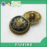 Embossment custom logo sewing button /used button hole sewing machines/coats sewing button