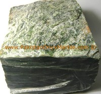 GREEN ROUGH NEPHRITE JADE SUITABLE FOR HANDICRAFTS