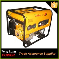 5kva single cylinder 12v generator avr 3 phase china generator dealers electric start generator for home and other use