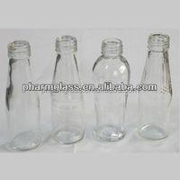 glass juice bottle, beverage bottle, fruit juice bottle