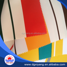 pvc awning stripes fabric in standard size