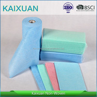 cross lapping spunlace household cleaning cloths/super absorbent magic towel