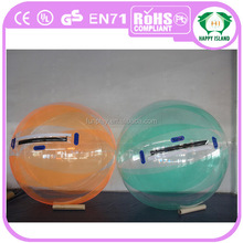 Good service !human water bubble ball,inflatable water ball ,adult size water ball