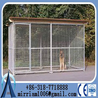 outdoor galvanised cheap chain link dog kennels, 6ft dog kennel cage, large dog run kennel