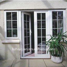 Assortiti in pvc porte e finestre con doppio vetro e griglia interna vetrino id prodotto - Griglia regolabile protezione finestre ...