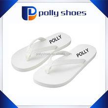 latest cutomized men outdoor white eva beach flip flops slipper