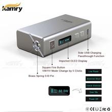 e cig wholesale china kamry 30watt electronic cigarette leather carrying case