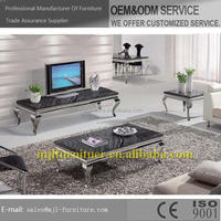 High quality new arrival marble modem style coffee tables