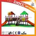nuevo 2014 de plástico al aire libre patio de juegos para niños