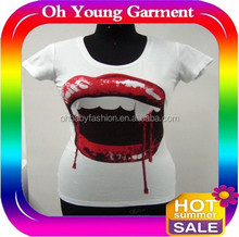 printed t shirts for women/jersey t shirts for young girls NEW YORK GIANTS GAME JERSEY