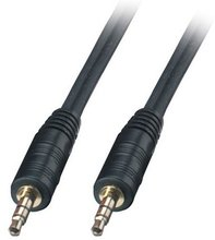 1.2 metre 3.5 Jack Audio PC to LCD TV Sound IN Cable/Lead GOLD