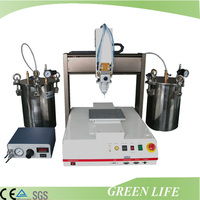 Electrical pcb board gluing programmable benchtop automatic epoxy dispensing machine