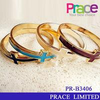 hot sale wholesale fashion cheap cross charm bracelet