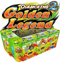 Fish Hunter English Verison Ocean King 2 fishing game machine video game console wholesale