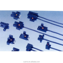 3 Wire Prewired Small Photoelctric Switch Sensor 5mm Slot Thru Beam Photomicrosensor DC5-24V Light/Dark ON Selectable
