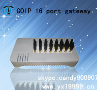 50%OFF yx gsm gateway voip product make in china 16 port 16 sim card goip support imei change auto for call termina sever