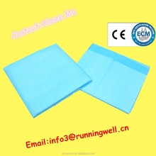 quality medical under pads non-woven bed pads urine wet mats