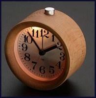Designer export new design wooden unique desk clock