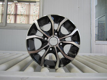 size 16x6.5 jj h/pcd 5x100 replica alloy wheels for cars