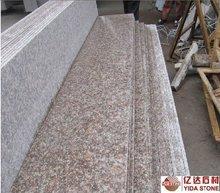 G687 peach red granite\cheap china pink granite