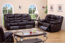 American style top grain leather Function Relax recliner sofa set