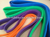different types of resistance bands /Latex resistance bands(hard,easy,medium)